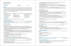 It Business Analyst Resume Examples Guide Best Samples Senior Sample