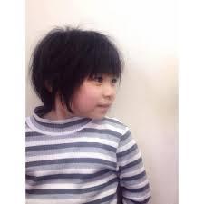 女の子らしい可愛いボブキッズ Naturナチュラのヘアスタイル
