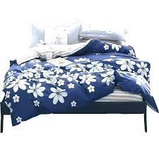 solid blue duvet covers light quilt navy set simple flowers cotton cover orange striped bed fabric