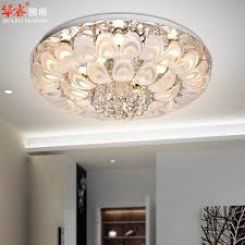nice crystal lighting chandelier modern round crystal chandeliers d80cm flush mount ceiling lamp