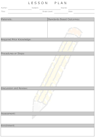 Downloadable Lesson Plan Templates Lesson Plan Lesson Plan How To Examples And More