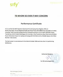 Certificate Format For Project Completion Termination Letter