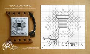 Free Blackwork Embroidery Charts I Love Blackwork A Free Chart For Blackwork Lovers