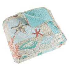 Highland Dunes Yush Nautical Starfish Quilt Set & Reviews | Wayfair & Yush Nautical Starfish Quilt Set Adamdwight.com