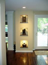 wall niches in load bearing wall