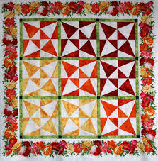 Annie's Quilting Den - Quilt Store & The Last Marti and Me Class for 2017 will demonstrate the tools that make  this creative Crossed Canoe Quilt. Adamdwight.com
