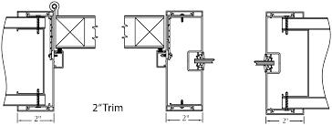 interior door jamb detail.  Door Type II Frame System On Interior Door Jamb Detail R