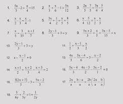 kindergarten 15 multi step equations with fractions worksheet