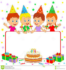 Birthday Frame Stock Vector Illustration Of Party Waving 91983346