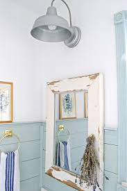 so many great farmhouse bathroom update ideas love this mirror made from an old window