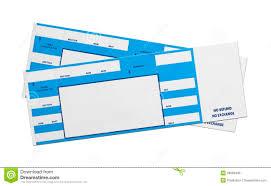 Blue Concert Tickets Stock Photo Image Of Break Attending 38680438