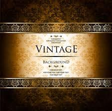 ornate vintage golden frame backgrounds vector 04