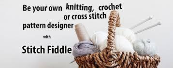 Create Knitting Chart Stitch Fiddle