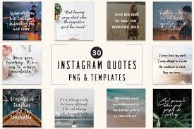 Free Design Templates For Instagram 30 Free Instagram Quotes Templates Creativetacos
