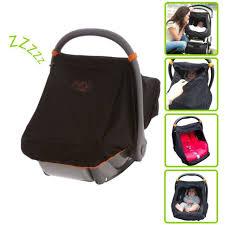snoozeshade universal car seat canopy blocks 99 of uv with 360 degree protecti