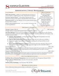 Admin Manager Cv Sample Administrative Manager Resume Examples Manager Resume