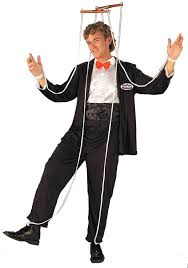 Marvelous ... Adult Perfect Husband Men Funny Puppet Costume. Click Here To View  Large Image