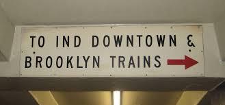 york city transit sign wall plaque