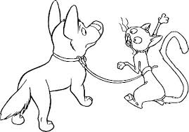 Printable Colouring Pages Of Cats And Dogs Coloring Pages Dogs And