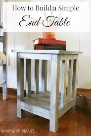 But why not start small with a nice mission style coffee table. Diy Side Table Plans Pretty Handy Girl