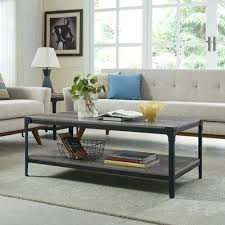coffee table tanner round bronze finish
