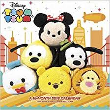 2018 Tsum Tsum Wall Calendar (Day Dream): Day Dream: 0038576132689 ...