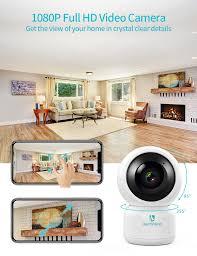 Camera an ninh giám sát trong nhà không dây WiFi 360 HeimVision HM203  1080P- Hàng chính