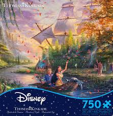 <b>Thomas Kinkade</b> Disney - <b>Pocahontas</b> - 750 Piece Puzzle – Ceaco ...