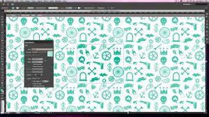 Create Pattern Illustrator