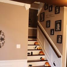 cool staircase wall decorating ideas traditional other