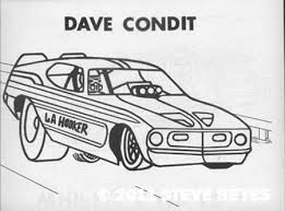 Small Picture Coloring Book Page In Tony Collin S Drag Racing Coloring Bookcirca