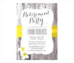 Free Retirement Flyer Templates Retirement Template Invitations Flyer Phonegenius Co