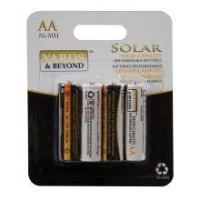 20 AA Rechargeable Batteries NiCd 600mAh 12v Garden Solar NiCd Solar Light Batteries Aa