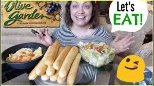 olive garden mukbang eating show