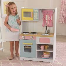 Pastel Kitchen Kidkraft Deluxe Pastel Play Kitchen 53181 Play Kitchens At