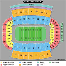 Nc State Seating Chart Ncsu Carter Finley Stadium Seating Chart Ofertasvuelo