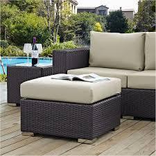 outdoor footstool small storage ottoman outdoor patio footstools wicker footrest high top patio set outdoor wicker