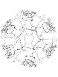 10 Mandala Di Natale Da Colorare Mamma E Casalinga
