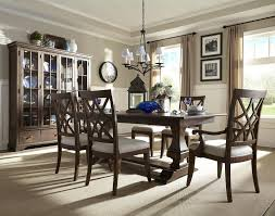 wood dining room sets. Trisha Yearwood Home Collection By Klaussner Formal Dining Room Group - Item Number Wood Sets