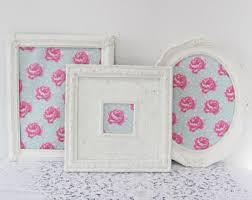 white antique picture frames. Ornate Picture Frame Set, Antique White Wedding Or Nursery Frames U