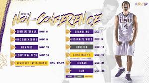 tigers non conference basketball schedule set lsusports net the official web site of lsu tigers athletics