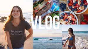Songs in VLOG Sydney to Gold Coast beach vegan food Youtube.