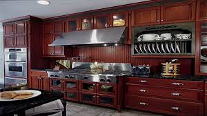 Wooden Plate Racks For Kitchens Kitchen Contemporary Cherry Wood Kitchen Cabinet Ideas With Grey