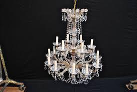 image of maria theresa chandelier swarovski crystal