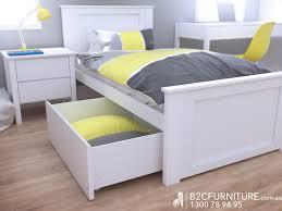 bedroom furniture storage. White Single Storage Bedroom Suite 4PCE \u2013 Fantastic Timber Frame Furniture S