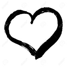 手にはあなたのロマンチックなデザインのおしゃれなハートが描かれましたベクトルで作ったバレンタイン