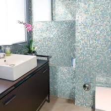 mosaic bathroom tiles. Design Trend: Go Bright \u0026 Bold In Your Bathroom Mosaic Tiles