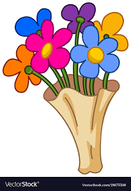 picture of cartoon flowers. Contemporary Cartoon Cartoon Flower Bouquet Vector Image To Picture Of Flowers F