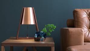 Copper Table Lamp Style Ideas Rickyhil Outdoor Ideas