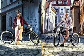 michael blast t4b retro style electric bike 26 wheels bafang 350w brushless electric motor 7 sd 36v13ah li ion battery extended range